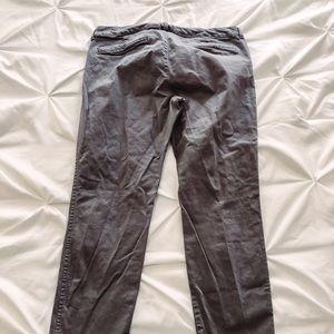 Old Navy pixie gray khakis